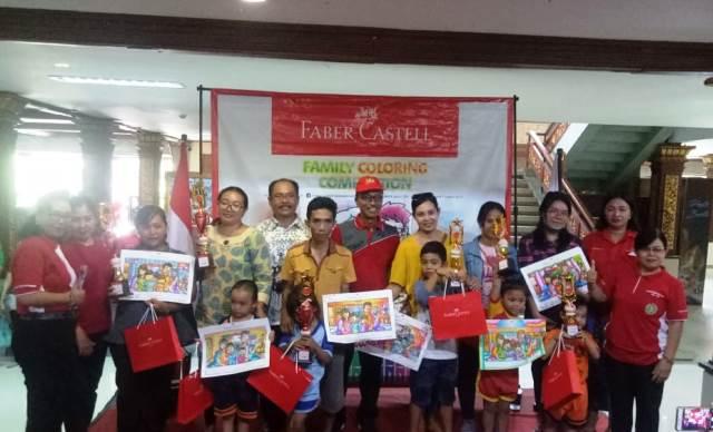 Faber Castell Gandeng Pgri Denpasar Gelar Lomba Mewarnai Berita